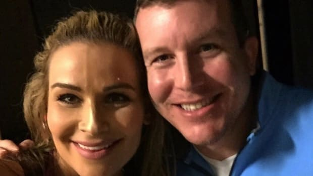 Natalya and Ted DiBiase Jr.