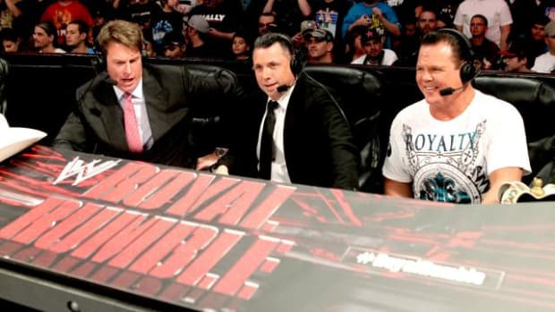 JBL, Michael Cole, Jerry Lawler