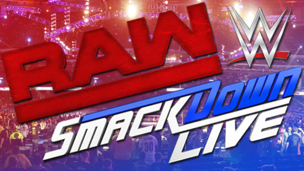 Raw and Smackdown Live Logos
