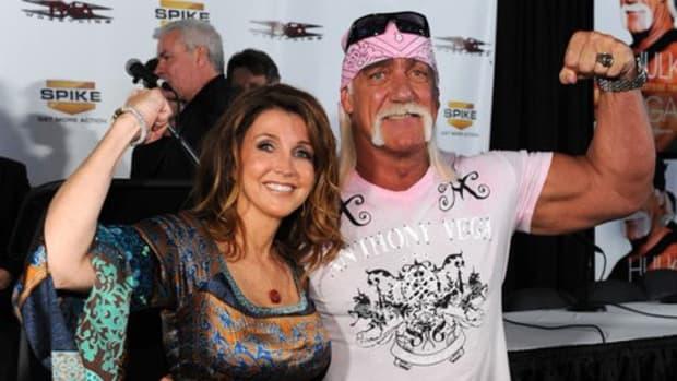 Dixie Carter and Hulk Hogan