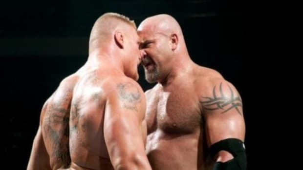 Lesnar vs. Goldberg