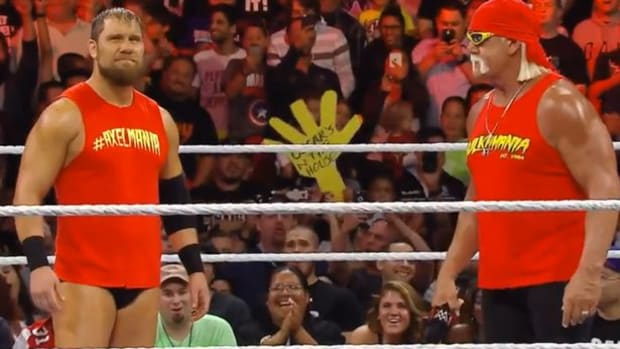 Curtis Axel and Hulk Hogan