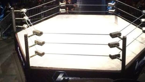 Impact Wrestling ring