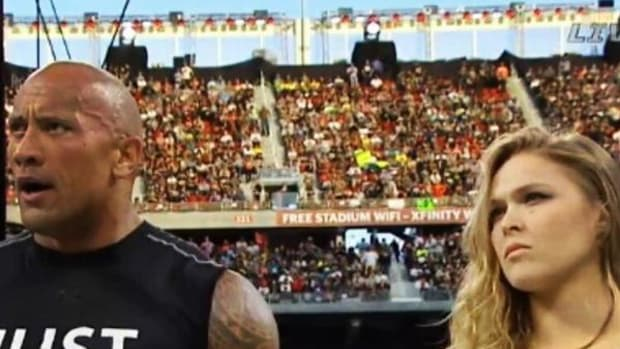 The Rock & Ronda Rousey