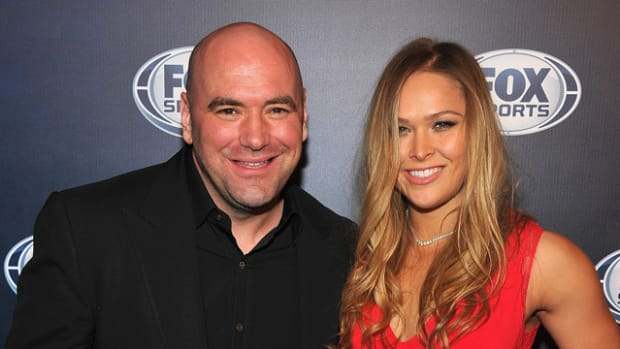 Dana White and Ronda Rousey
