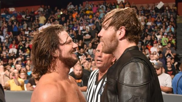 AJ Styles and Dean Ambrose