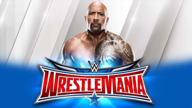 The Rock WrestleMania 32