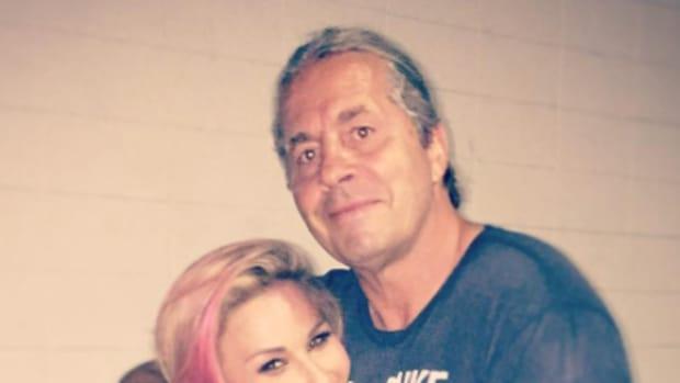 Natalya & Bret Hart