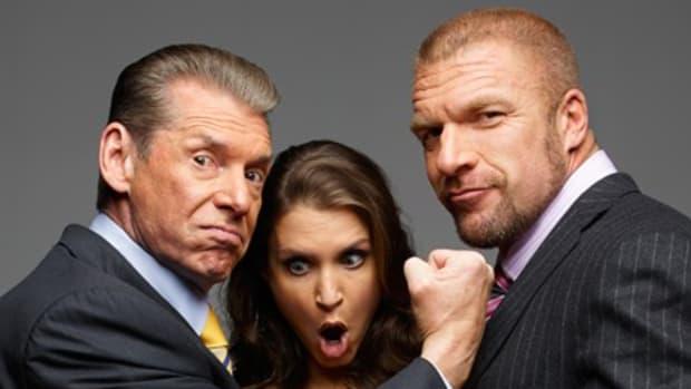 Vince McMahon, Stephanie McMahon & Triple H