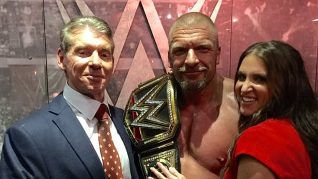 Vince McMahon, Triple H, Stephanie McMahon