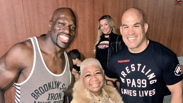 Titus O'Neil and Tito Ortiz