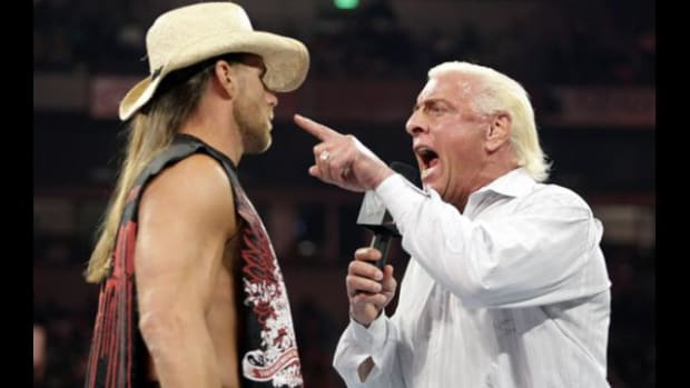 Shawn Michaels and Ric Flair