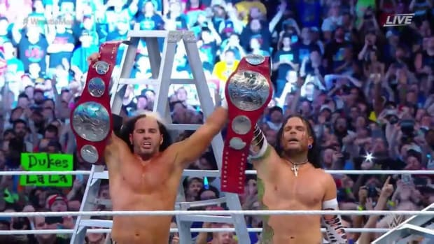 The Hardys Raw Tag Champs
