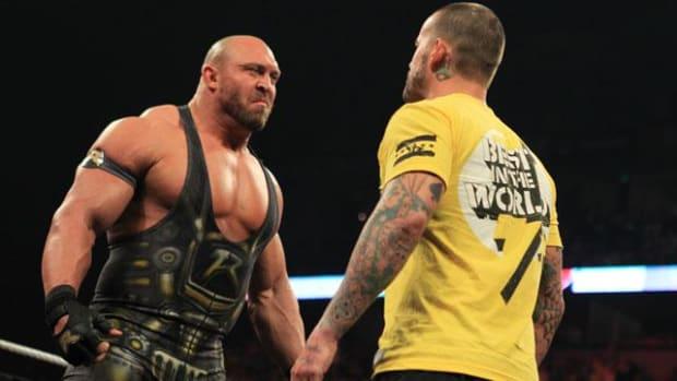 Ryback vs. CM Punk