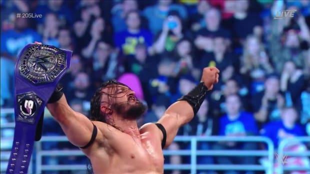 Neville Cruiserweight Champion