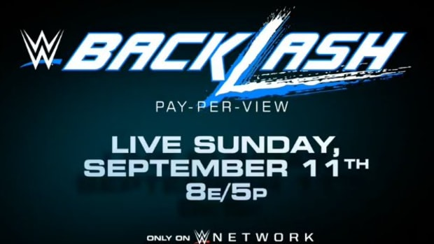 New WWE Backlash Logo