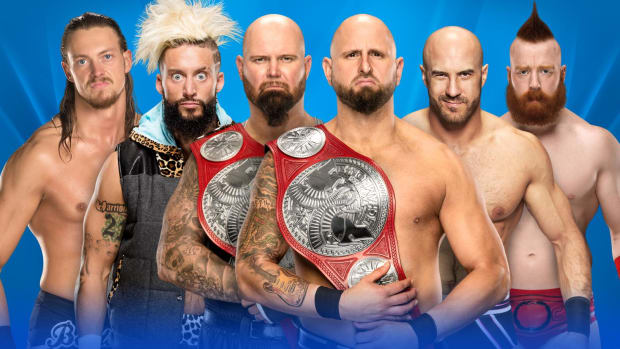 WrestleMania 33 Ladder Match