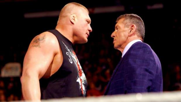 Brock Lesnar & Vince McMahon