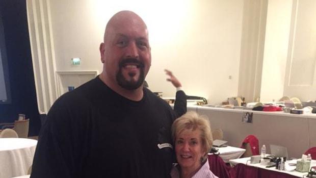 Big Show & Linda McMahon