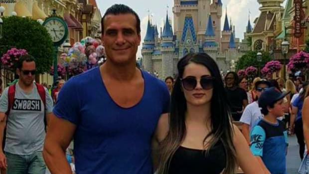 Alberto Del Rio And Paige