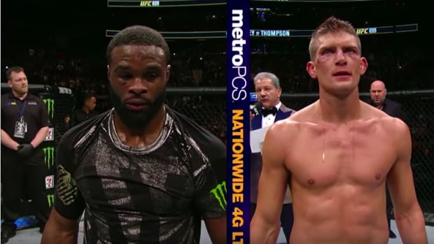 Tyron Woodley and Steven Thompson