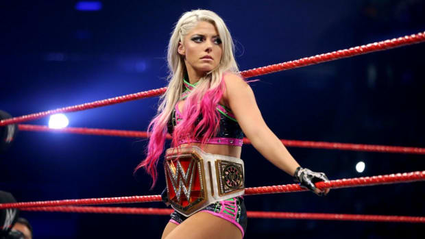 Alexa Bliss Raw Women's Champ