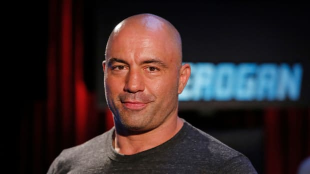 JOE ROGAN QUESTIONS EVERYTHING -- Season:1 -- Pictured: Joe Rogan -- (Photo by: Vivian Zink/Syfy/NBCU Photo Bank via Getty Images)