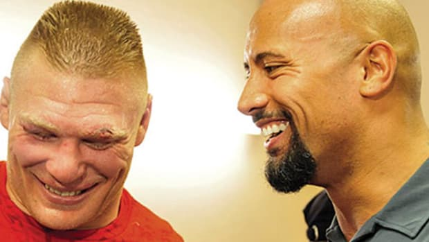 Brock Lesnar & The Rock