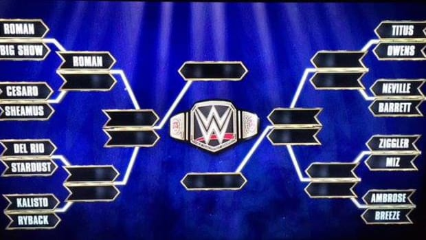 WWE World Heavyweight Championship Tournament Bracket