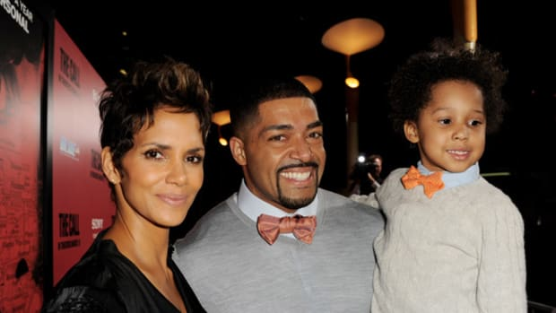 Halle Berry & David Otunga