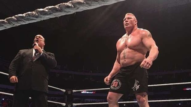 Brock Lesnar live event