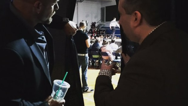 Triple H & Gabe Sapolsky