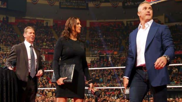 Vince McMahon, Stephanie McMahon & Shane McMahon