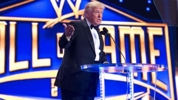 Donald Trump WWE Hall of Fame