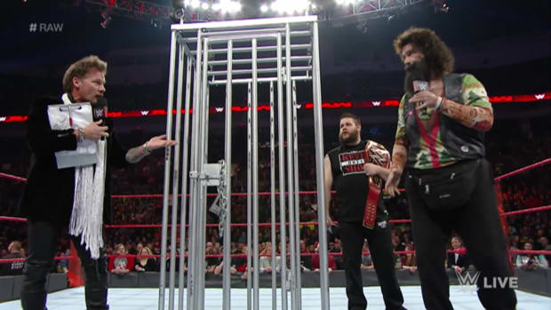 Chris Jericho, Kevin Owens, Mick Foley