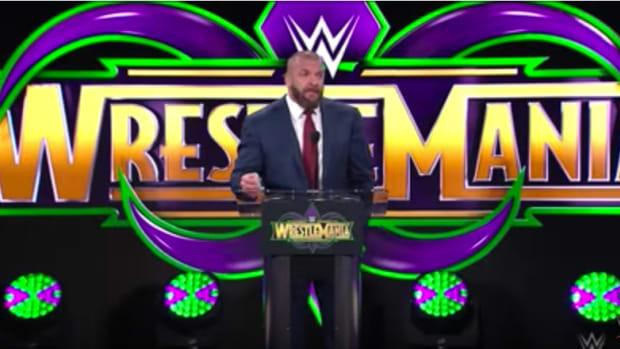Wrestlemania 34 Triple H