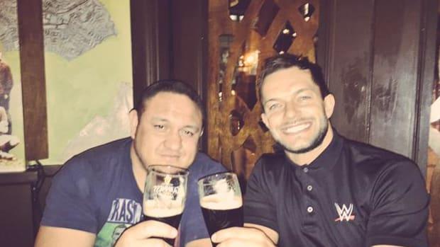 Samoa Joe & Finn Balor