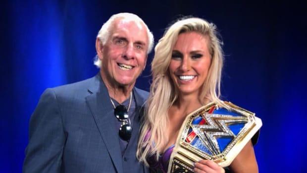 Charlotte & Ric Flair
