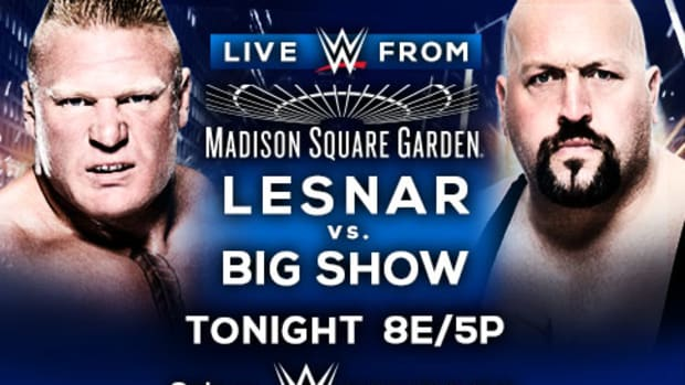 WWE Lesnar vs. Big Show