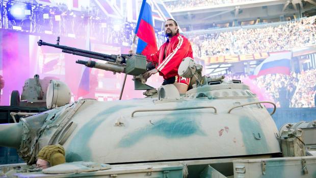 Rusev tank
