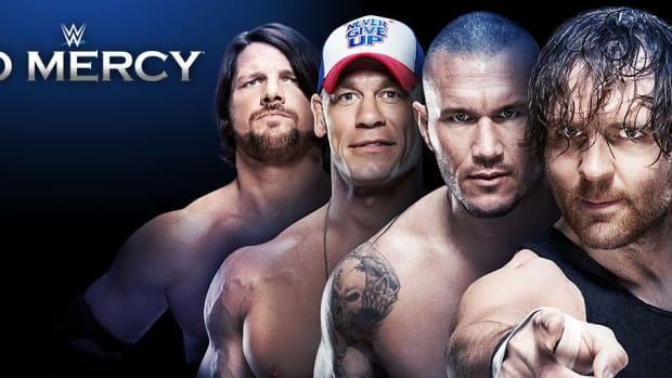 WWE No Mercy Logo