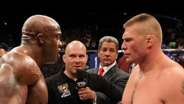 Lesnar vs Lashley
