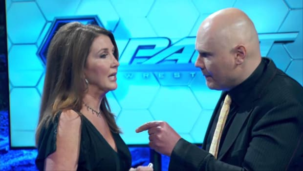 Dixie Carter and Billy Corgan