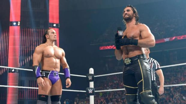 Seth Rollins and Neville