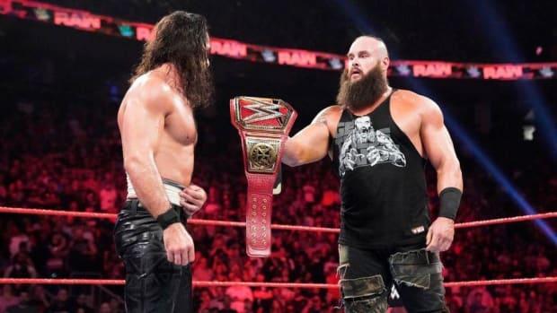 Strowman vs Rollins