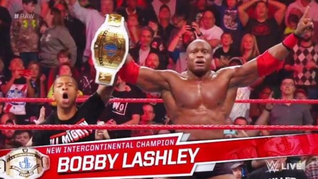 Lashley IC Champion