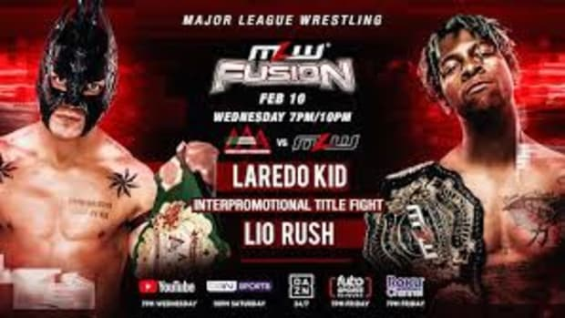 lio rush vs laredo kid