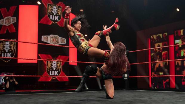 NXT UK W title 2