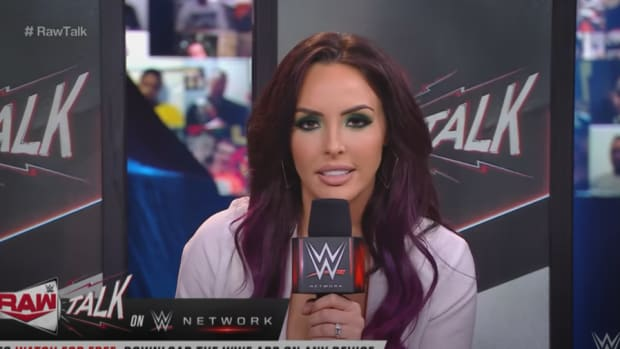 Peyton Royce- WWE Raw Talk- March 2021