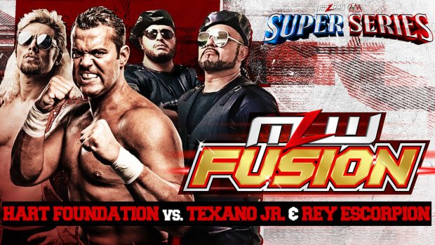 YT Hart Foundation vs. Texano Jr. & Rey Escorpion